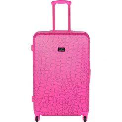 Walizki: Walizka w kolorze różowym – 107 l