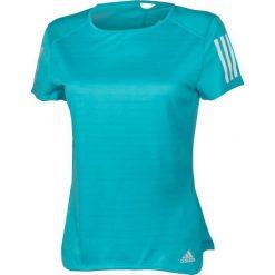 Bluzki asymetryczne: Adidas Koszulka damska Response Short Sleeve Tee W niebieska r. XS (BP7457)