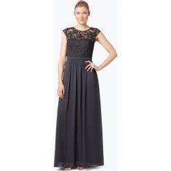 Sukienki balowe: Marie Lund - Damska sukienka wieczorowa, szary