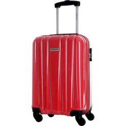 Walizka w kolorze czerwonym - 41 l. Czerwone walizki marki Travel One, z materiału. W wyprzedaży za 219,95 zł.