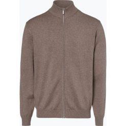Mc Earl - Kardigan męski, beżowy. Brązowe swetry rozpinane męskie Mc Earl, l, klasyczne, z klasycznym kołnierzykiem. Za 179,95 zł.