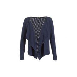 Swetry rozpinane / Kardigany Betty London  ELLIANE. Niebieskie kardigany damskie marki BOTD, l. Za 143,20 zł.