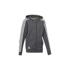 Bluzy dresowe Dziecko adidas  Bluza z kapturem Essentials 3-Stripes. Czarne bluzy chłopięce rozpinane marki Nike. Za 199,00 zł.