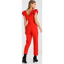 Kombinezony damskie: Miss Selfridge Petite RUFFLE  Kombinezon red