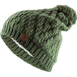 Czapka damska  CAD608 - khaki - Outhorn. Brązowe czapki zimowe damskie Outhorn, na jesień. Za 39,99 zł.