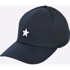 Tommy Hilfiger - Czapka. Czarne czapki z daszkiem damskie marki TOMMY HILFIGER, z bawełny. Za 179,90 zł.