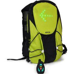 Plecak w kolorze zielono-czarnym - (S)20 x (W)35 x (G)6 cm. Czarne plecaki męskie Jocca, z materiału. W wyprzedaży za 219,95 zł.