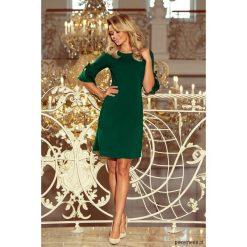 217-2 NEVA Trapezowa sukienka - zielona. Zielone sukienki mini marki Reserved, z wiskozy. Za 140,00 zł.
