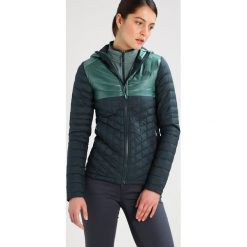 The North Face Kurtka zimowa darkest spruce/deep sea. Różowe kurtki sportowe damskie marki The North Face, m, z nadrukiem, z bawełny. W wyprzedaży za 629,30 zł.