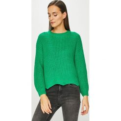 Tally Weijl - Sweter. Czerwone swetry klasyczne damskie marki TALLY WEIJL, l, z dzianiny, z krótkim rękawem. Za 119,90 zł.