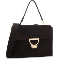 Torebka COCCINELLE - DD6 Arlettis Suede E1 DD6 12 06 01 Noir 001. Czarne torebki klasyczne damskie marki Coccinelle, ze skóry. Za 1699,90 zł.