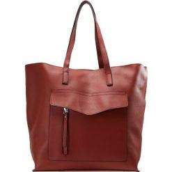 New Look SABRINA Torba na zakupy rust. Czarne shopper bag damskie marki New Look, z materiału, na obcasie. Za 149,00 zł.
