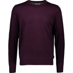Sweter w kolorze fioletowym. Fioletowe swetry klasyczne męskie marki Ben Sherman, m, z wełny, z okrągłym kołnierzem. W wyprzedaży za 195,95 zł.