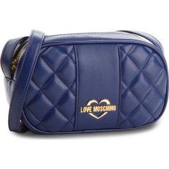 Torebka LOVE MOSCHINO - JC4005PP16LA0750  Blu. Niebieskie listonoszki damskie Love Moschino, ze skóry ekologicznej. W wyprzedaży za 409,00 zł.