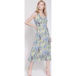 Sukienki: Żółta Sukienka Colors Of My Dream
