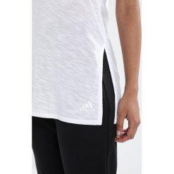 Adidas Performance LOOSE  Top white. Białe topy sportowe damskie adidas Performance, l, z materiału. Za 149,00 zł.