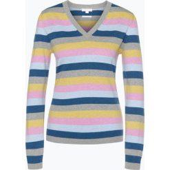 Brookshire - Sweter damski, szary. Czarne swetry klasyczne damskie marki brookshire, m, w paski, z dżerseju. Za 179,95 zł.