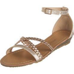 Sandały damskie: Sandały w kolorze różowozłotym