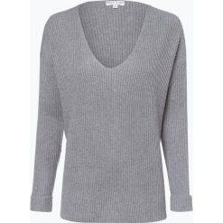 Marie Lund - Sweter damski, szary. Szare swetry klasyczne damskie Marie Lund, s, z dzianiny, z dekoltem w serek. Za 229,95 zł.