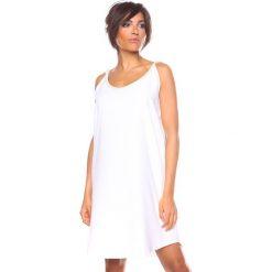 """Sukienki hiszpanki: Sukienka """"Kia"""" w kolorze białym"""