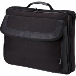 """Targus Classic Clamshell Case 15,6"""" czarna. Czarne torby na laptopa marki Targus, w paski. Za 79,00 zł."""