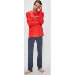 Henderson - Piżama Focus. Szare piżamy męskie Henderson, l, z nadrukiem, z bawełny. W wyprzedaży za 79,90 zł.