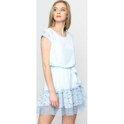 Sukienki: Jasnoniebieska Sukienka Slow Motion
