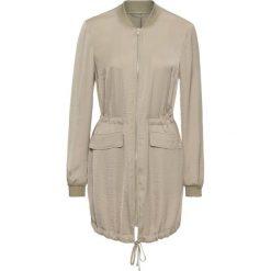 Bomberki damskie: Długa kurtka bomberka bonprix khaki