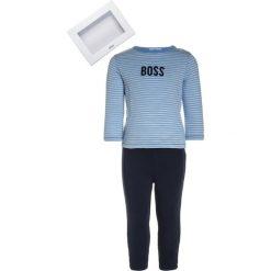 Chinosy chłopięce: BOSS Kidswear SET Spodnie materiałowe himmelblau