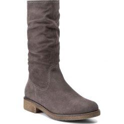 Kozaki TAMARIS - 1-25484-29 Anthracite 214. Szare buty zimowe damskie marki Tamaris, z materiału. W wyprzedaży za 229,00 zł.