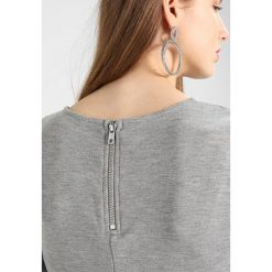 Sukienki hiszpanki: b.young PILO DRESS Sukienka z dżerseju light grey melange