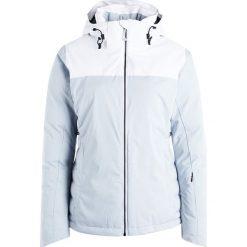 Columbia SNOW DREAM Kurtka narciarska cirrus grey heather/white. Szare kurtki damskie narciarskie Columbia, xl, z materiału. W wyprzedaży za 799,20 zł.