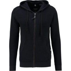 Swetry rozpinane męskie: GStar BINORMA SP HDD CARDIGAN  Kardigan mazarine blue/black