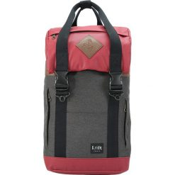 Plecaki męskie: Plecak w kolorze czerwono-antracytowym – 28 x 40 x 12 cm