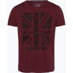 Tom Tailor Denim - T-shirt męski, różowy. Fioletowe t-shirty męskie marki KIPSTA, m, z elastanu, z długim rękawem, na fitness i siłownię. Za 59,95 zł.