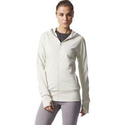 Bluzy damskie: Adidas Bluza damska Beyond the run biała r. 42 (BR2441)