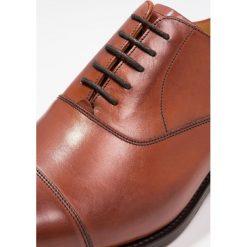 Buty wizytowe męskie: Barker DUXFORD Eleganckie buty rosewood
