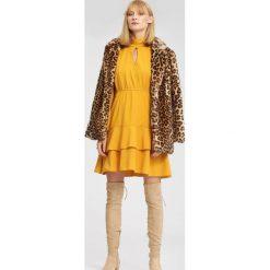 Żółta Sukienka I'm Sleeping. Żółte sukienki other, m, z koszulowym kołnierzykiem, koszulowe. Za 79,99 zł.