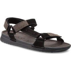 Sandały męskie skórzane: Sandały LASOCKI FOR MEN – MI07-A612-A472-17 Czarny