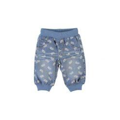 Name it Boys Spodnie Karlo medium blue Denim. Niebieskie spodnie chłopięce marki bonprix. Za 83,63 zł.