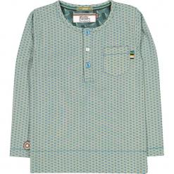 """Koszulka """"Rhinestone Eyes"""" w kolorze niebiesko-żółtym. Niebieskie t-shirty chłopięce z długim rękawem marki 4FunkyFlavours Kids. W wyprzedaży za 82,95 zł."""