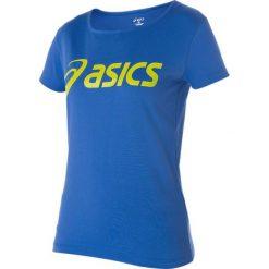 Asics Koszulka damska Logo Tee niebieska r. S (122863-8091). Niebieskie bluzki damskie marki Asics, s. Za 69,98 zł.
