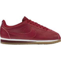 """Buty Nike WMNS Classic Cortez Leather """"Gym Red"""" (807471-600). Czerwone buty sportowe damskie Nike, z materiału. Za 249,99 zł."""