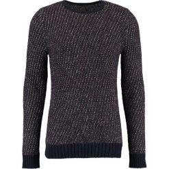 Swetry klasyczne męskie: Sisley Sweter navy