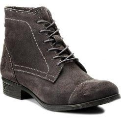 Botki LASOCKI - WI16-TRIO-03 Szary. Szare buty zimowe damskie Lasocki, ze skóry, na obcasie. Za 179,99 zł.