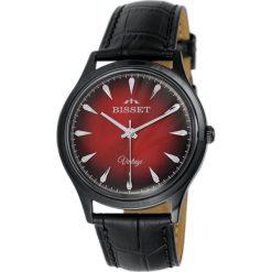 Biżuteria i zegarki męskie: Zegarek Bisset Męski Vintage BSCE57 BIRX 05BX Klasyczny czarny