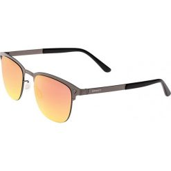 """Okulary przeciwsłoneczne męskie: Okulary męskie """"Archer"""" w kolorze szaro-pomarańczowym"""