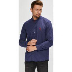 U.S. Polo - Koszula. Szare koszule męskie na spinki marki S.Oliver, l, z bawełny, z włoskim kołnierzykiem, z długim rękawem. Za 479,90 zł.