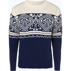 Napapijri - Sweter męski, niebieski. Niebieskie swetry klasyczne męskie Napapijri, m, z kontrastowym kołnierzykiem. Za 999,95 zł.