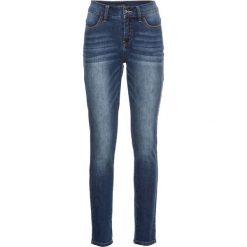 """Dżinsy SKINNY bonprix niebieski """"stone used"""". Niebieskie rurki damskie bonprix, z jeansu. Za 129,99 zł."""